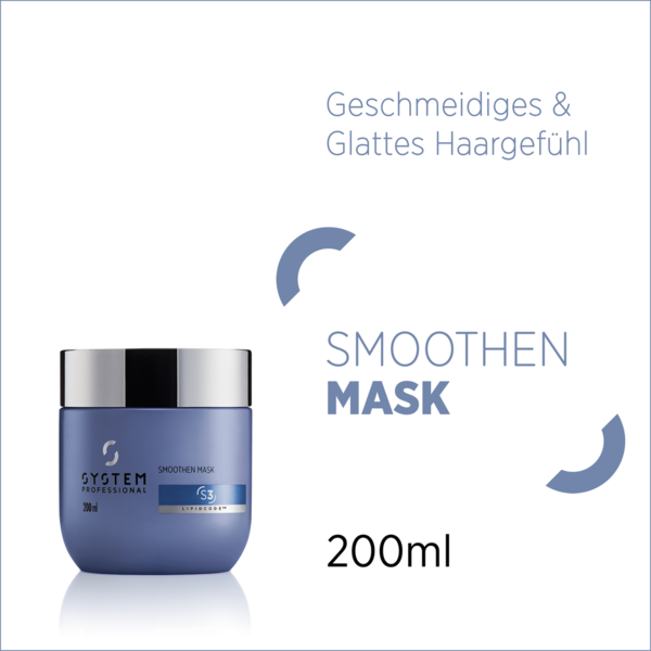 System Professional Smoothen Mask S3 200 ml