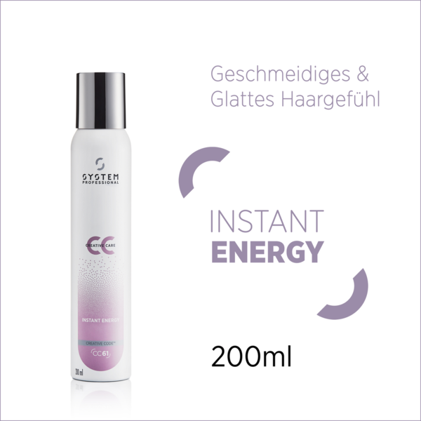 System Professional Creative Care Instant Energy CC61 200 ml