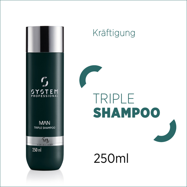 System Professional MAN Triple Shampoo M1 250 ml