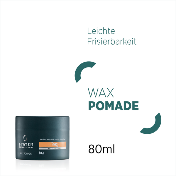 System Professional MAN Wax Pommade  M62 80 ml